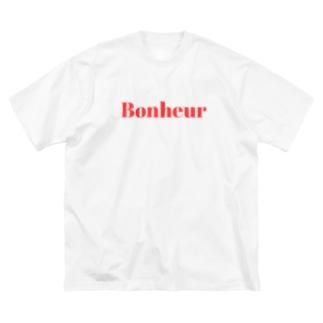 Bonheur Big silhouette T-shirts