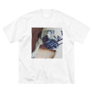 ぱぐるみ Big silhouette T-shirts