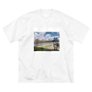 MentaiAnkoのおでかけおに君 Big silhouette T-shirts