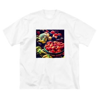y's papa フルーツバスケット Big silhouette T-shirts