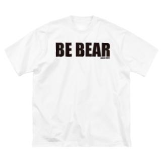 BE BEAR Big silhouette T-shirts