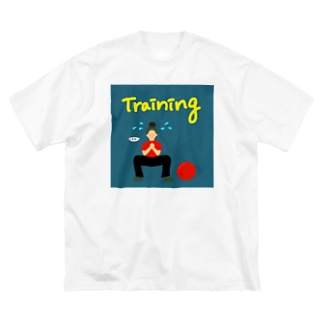 Training girl  Big silhouette T-shirts
