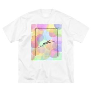music Big silhouette T-shirts