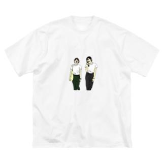 ベストフレンズ Big silhouette T-shirts