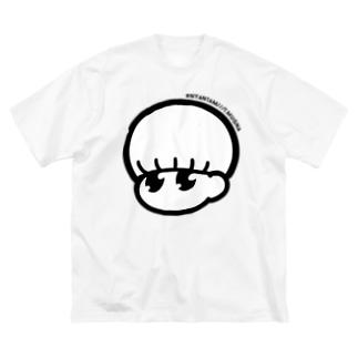 給食帽 Big silhouette T-shirts