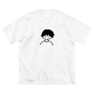 ひと Big silhouette T-shirts