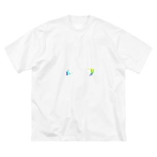 高評価&低評価 Big silhouette T-shirts