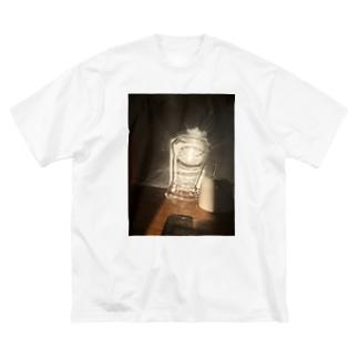 光をあつめて Big silhouette T-shirts