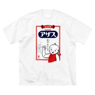 アザス 乙であります Big silhouette T-shirts