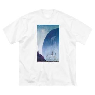 YU-TOのKay Nielsen1 Big silhouette T-shirts