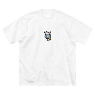 しぶけん Big silhouette T-shirts