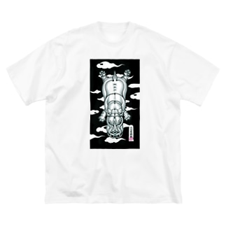 JAPANESE KABA Big silhouette T-shirts