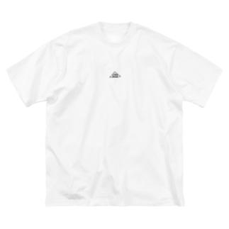スミニゲアニマルロゴ Big silhouette T-shirts