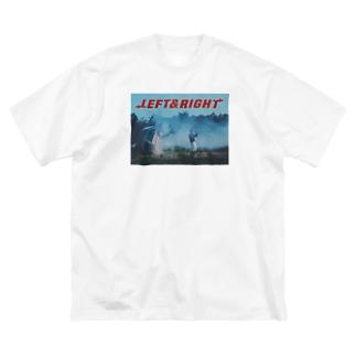 yoshilm_のSVT L&R Tシャツ Big silhouette T-shirts
