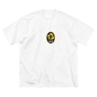 fox Big silhouette T-shirts