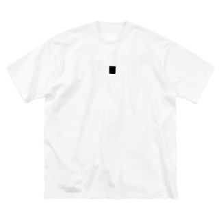 Me_のしゃん Big silhouette T-shirts