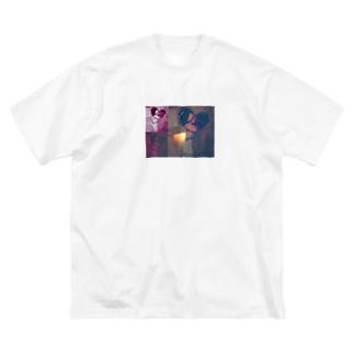 あきよしたかひろのアキヨシくん Big silhouette T-shirts