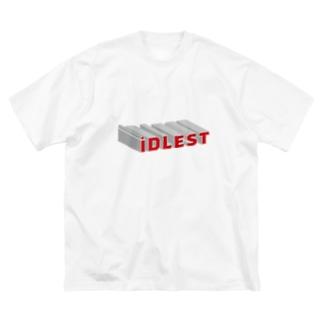 iDLest T Big silhouette T-shirts