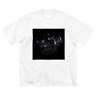 墜落 Big silhouette T-shirts