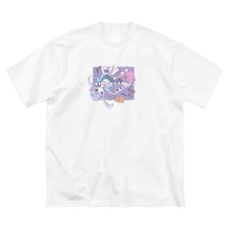 オトナニナリタクナイ Big silhouette T-shirts