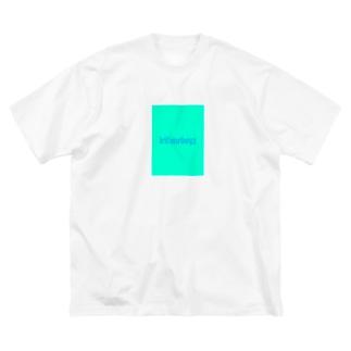 歩く入船 Big silhouette T-shirts