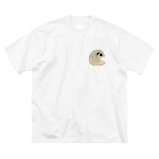 ポテトチップスくん Big silhouette T-shirts