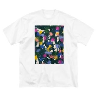 はらっぱ/カヨサトーTX Big silhouette T-shirts