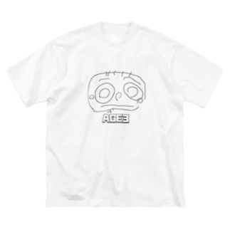 AGE3 No1 「MAMA」 Big Silhouette T-Shirt