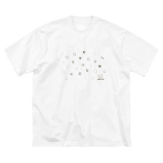 自由な水玉模様2020AWver. Big silhouette T-shirts