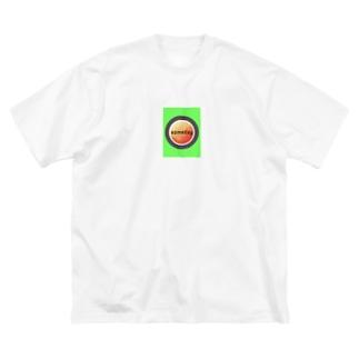 ストリート系 someday  Big silhouette T-shirts