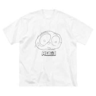 AGE3 No2 「PAPA」 Big T-shirts