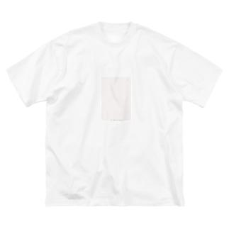 rilybiiのlove ... ❤︎ Big silhouette T-shirts