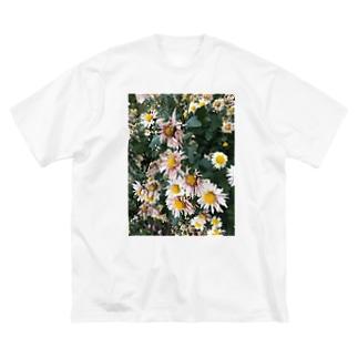 ハナ・ハナ Big silhouette T-shirts