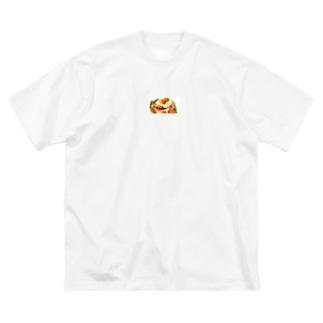 おしゃれなパン Big silhouette T-shirts