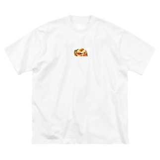 ykmr00のおしゃれなパン Big silhouette T-shirts