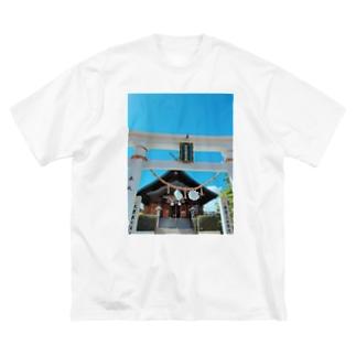 ホノルル出雲大社 Big silhouette T-shirts