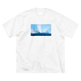 nana05の景色 Big silhouette T-shirts