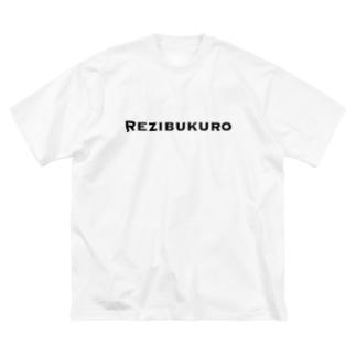 Rezibukuro Big silhouette T-shirts