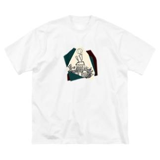 バルーン Big silhouette T-shirts