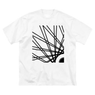 Asahi Big silhouette T-shirts