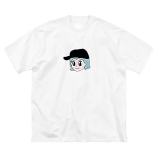ミカゲの休日 Big silhouette T-shirts