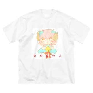 すいまちゃん Big silhouette T-shirts
