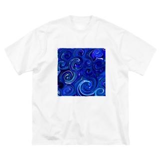 ウェ-ブ Big silhouette T-shirts
