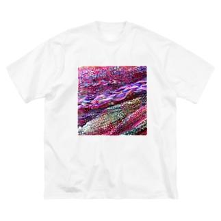 カヨラボの花曇り/カヨサトーTX Big silhouette T-shirts