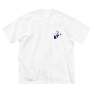 yuzuka Big silhouette T-shirts