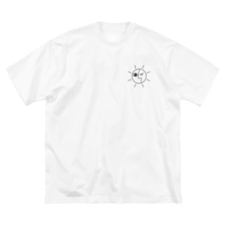 White Earth Tシャツ Big silhouette T-shirts