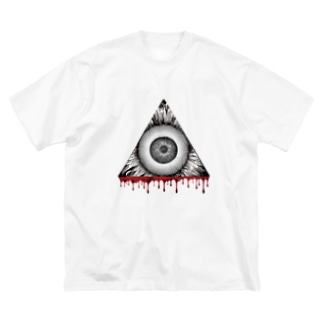 THE SUN KAKU Big silhouette T-shirts