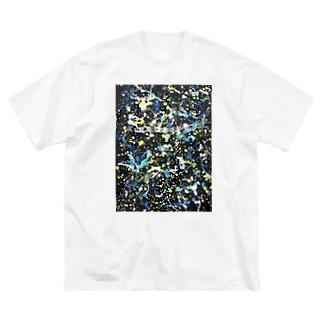 白夜行 Big silhouette T-shirts