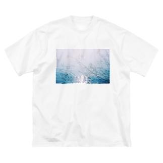minamo Big silhouette T-shirts