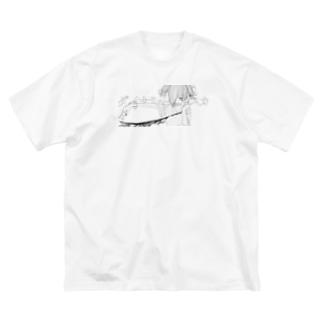 ダイナミックリスカ Big silhouette T-shirts